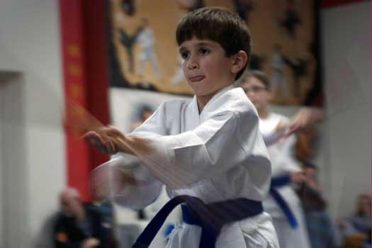 We offer a separate kids program to help our youngest students thrive!  <i>Shaolin Kids</i> is open to children from ages 5 to 12 and meets on a variety of days and times to accommodate everyone's schedule.